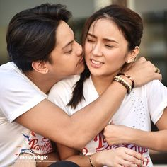 if this isn't goals idek what is. Kathryn Bernardo Hairstyle, Daniel Johns, Enrique Gil, Daniel Padilla, Cant Help Falling In Love, Jadine, Relationship Goals Pictures, Child Actresses, Queen Of Hearts