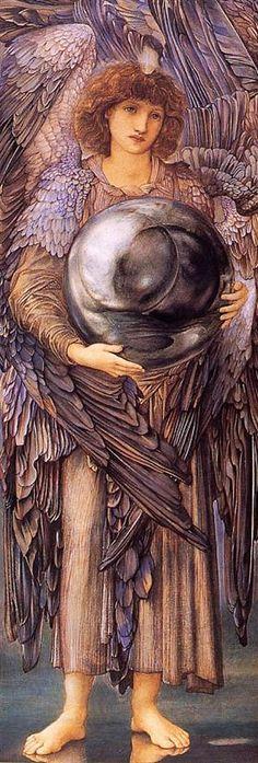 Days of Creation, The 1st Day - Edward Burne-Jones