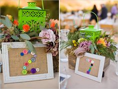 diy button table numbers