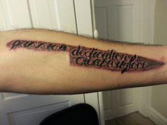 mise en place | tattoo's | pinterest | orte, tatuajes und köche - Tattoos Für Köche
