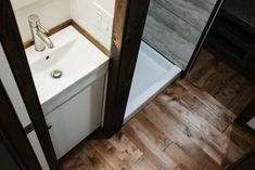 Vanity & Shower - Noah by Wind River Tiny Homes