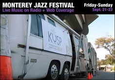 KUSP's Monterey Jazz Festival Page – KUSP Mobile at MJF – for 32 Years.