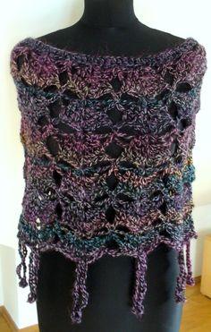 pončo Crochet Top, Crochet Patterns, Knitting, Sewing, Lace, Women, Fashion, Weaving Patterns, Tejidos