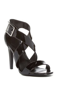 c5fdcdb2f2991a Calvin Klein Sharise Crisscross Sandal Casual Chic Style