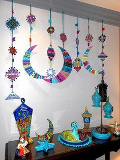 30 Best Of Eid Decoration Ideas . 3 D Eid Gift Wrap Eid and Ramadan Eid Crafts, Ramadan Crafts, Ramadan Decorations, Crafts For Kids, Ramadan Karim, Eid Ramadan, Fest Des Fastenbrechens, Decoraciones Ramadan, Moslem