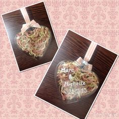 Handmade bespoke wedding gift, personalised glass bauble filled with real dried petals Luxury Wedding Gifts, Bauble, Bespoke, Memories, Glass, Handmade, Luxury Wedding Presents, Souvenirs, Hand Made
