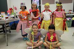 Six princesses from Enchanted Princesses Camp 2014