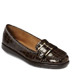 Women's A2 by Aerosoles Hall Of Fame - Brown Croco