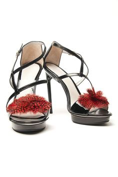 Jason Wu Esme Feather Sandal | Kirna Zabete