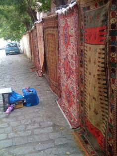 a carpet shop in Old Town, Tbilisi, Georgia, Caucasus.