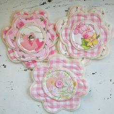 Sweet handmade fabric & felt flowers