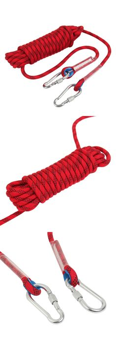 Ropes Cords and Slings 50816: Outdoor Climbing Rope Escape Rope Climbing Equipment Fire Rescue Parachute Rope -> BUY IT NOW ONLY: $34.41 on eBay!