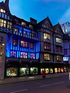 Liberty's, London > OMG still remember the first time I walked in this shop - best department store ever!