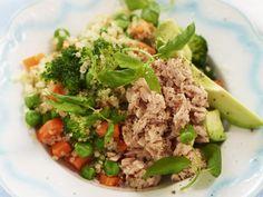 Quinoasallad med tonfisk
