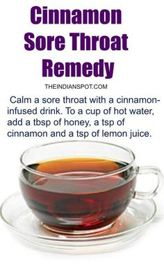 Flu Remedies Health tips - When anyone thinks of Cinnamon one will think of ice cream, apple pies and other delicious and yummy desserts. This herb is really healthy for you and do you know it can be used in many home remedy as Sore Throat Remedies, Cough Remedies, Herbal Remedies, Allergy Remedies, Psoriasis Remedies, Holistic Remedies, Natural Health Remedies, Natural Cures, Natural Treatments