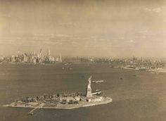 "Before it was called Liberty Island, Lady Liberty lived on ""Bedloe's Island,"" an Army post where about 30 families lived in the 1930s.."