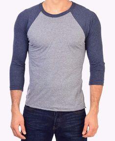 Brand new 3/4 Sleeve Raglan baseball Unisex T-shirt, first quality, multi color  #FirstQuality #Raglan
