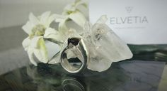 Swiss smokey quartz #elvetia #elvetialuxury #jewelry