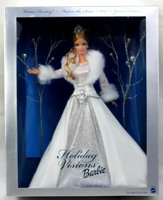 Barbie Holiday Visions First In Series 2003 Special Edition Winter Fantasy NIB