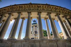 Parque del Buen Retiro, Madrid HDR