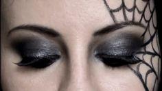 Make up - Halloween - cobweb