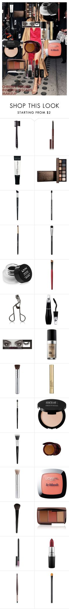 """CHRISSY TEIGEN Inspired Oscars Makeup"" by oroartye-1 on Polyvore featuring beauty, shu uemura, Hourglass Cosmetics, Christian Dior, Sigma, Dolce&Gabbana, MAC Cosmetics, NYX, Kent and Tweezerman"