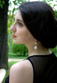 Silver Crystal Earrings, Cubic Zirconia Bridal Earrings, Bridal Dangle Earrings, Chandelier Wedding Earrings, Bridal Jewelry, Long Earrings Crystal Earrings, Dangle Earrings, Chandelier Wedding, Handmade Jewelry, Unique Jewelry, Wedding Earrings, Bridal Jewelry, Dangles, Crystals