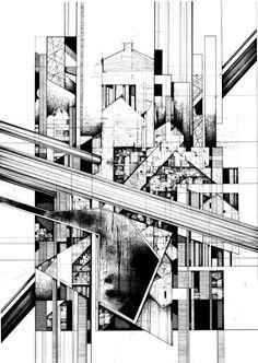 A level art, architecture artists, geometry architecture, abstract drawings Geometry Architecture, Architecture Drawing Art, Architecture Artists, Architect Drawing, Architecture Graphics, Architecture Portfolio, Facade Architecture, Building Drawing, A Level Art