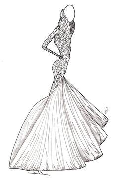 The Fashion Illustrator: Alexander McQueen: Fall '10