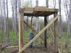 Photo Elevated Ground Blind Platform Field Amp Stream