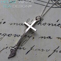 Helmipaikka Oy - Joka päivä on korupäivä - Helmipaikka. Crosses, Tea, Jewelry, Jewlery, Jewerly, Schmuck, Jewels, Jewelery, Teas