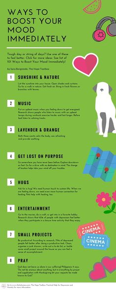 Helpful Ways to Boost Your Mood Immediately|The Holy Mess