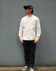 [HEADWEAR] NEW ERA × SD 59FIFTY Logo Cap Type5 PRICE : ¥7,500(+Tax) RELEASE : Mar. [TOPS] SD Oxford Stripe Button-Down Shirt PRICE : ¥14,800(+Tax) RELEASE : Mar.