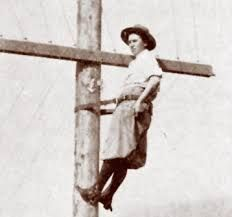 Image result for lady lineman