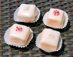 Quick and Easy No Bake Pound Cake Petit Fours