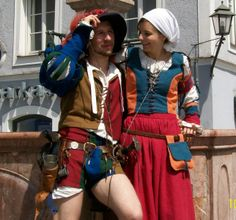 Landsknecht and kampfrau