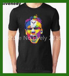 Spanish player Rafael Nadal Rafa ART 2016 New Hot Men's T Shirts Cotton Geek Short Sleeve Top Tee shirt Casual Clothing