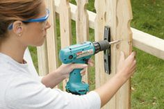 Building Your Own Fence Sections (Home Depot)