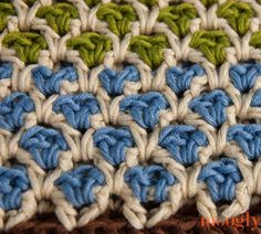 Free Moroccan Crochet Stitch Pattern