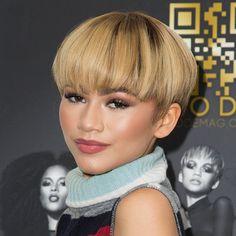 Zendaya Makes A Blonde Bowl Cut Look Good from essence.com
