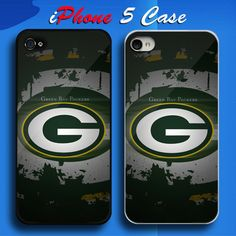 Green Bay Packers NFL Team Logo Custom iPhone 5 Case Cover