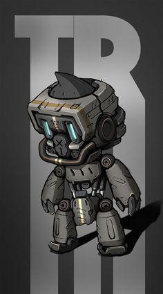 T-Robot on Behance