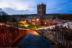 Steps down to St David's Cathedral, St David's, Pembrokeshire, W by Joe Daniel Price on 500px