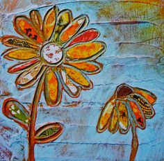 Two Daisies Print 8x10 by FoundStudio on Etsy, $22.00