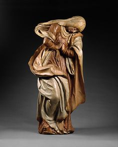 The Mourning Virgin.    Date:      18th century.  Culture:      German.  Medium:      Lindenwood, polychromed and gilded.