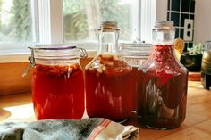 Boost your immunity this Fall—make your own flavored kombucha tea!