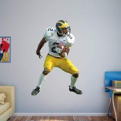 Fathead NCAA Michigan Wolverines Charles Woodson No. 2 Wall Decal - 12-20799