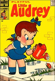 Playful Little Audrey vintage comics