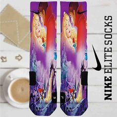 Disney Sleeping Beauty and Prince Custom Nike Elite Socks