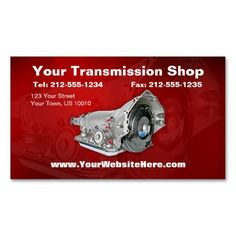 313 best auto repair business cards images on pinterest in 2018 customizable transmission repair business card colourmoves